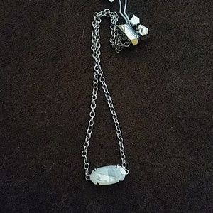 Everlyne Silver Chain  Ivory Mother of Pearl
